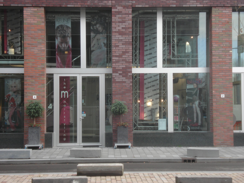 Aluminium interieurontwerp bij Amsterdamse kapsalon