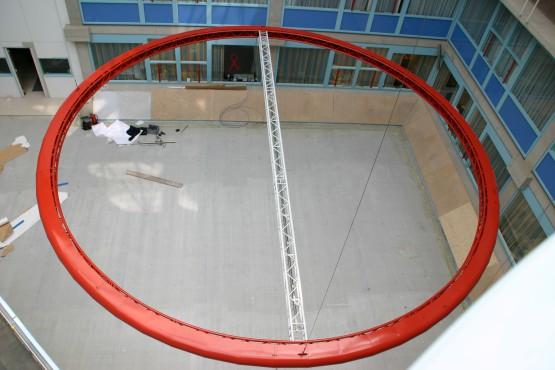 Omklede truss circkel 11 meter