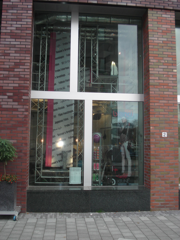 Aluminium-Innenentwurf beim Amsterdamer Friseursalon